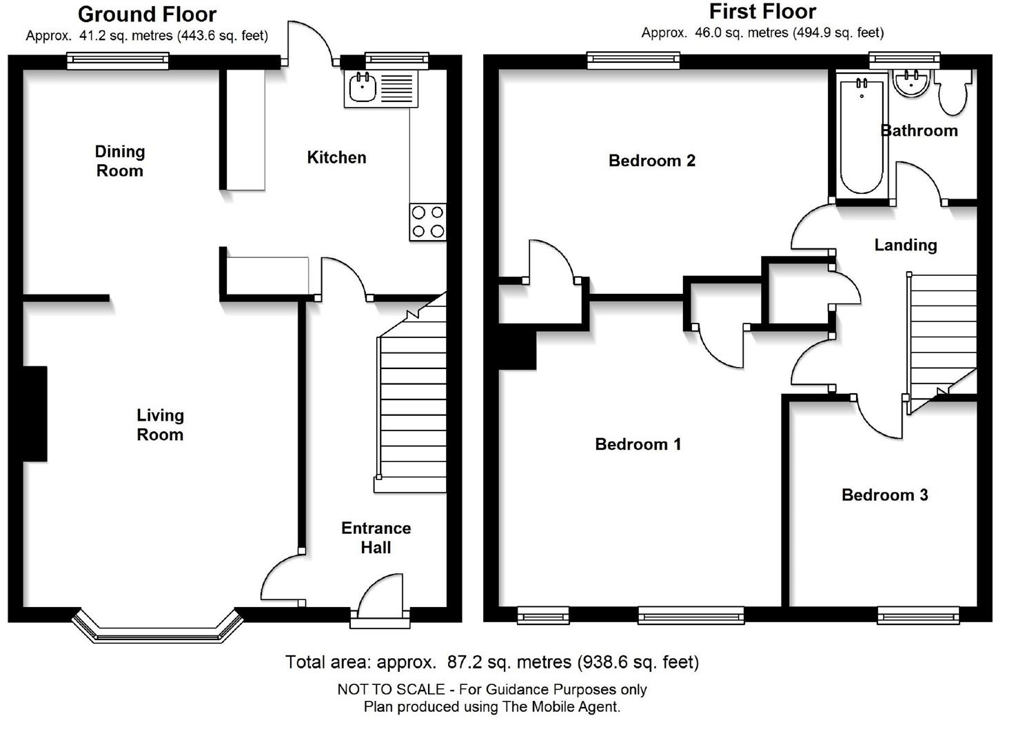 Ditton Lane, Cambridge, Cambridge floorplan